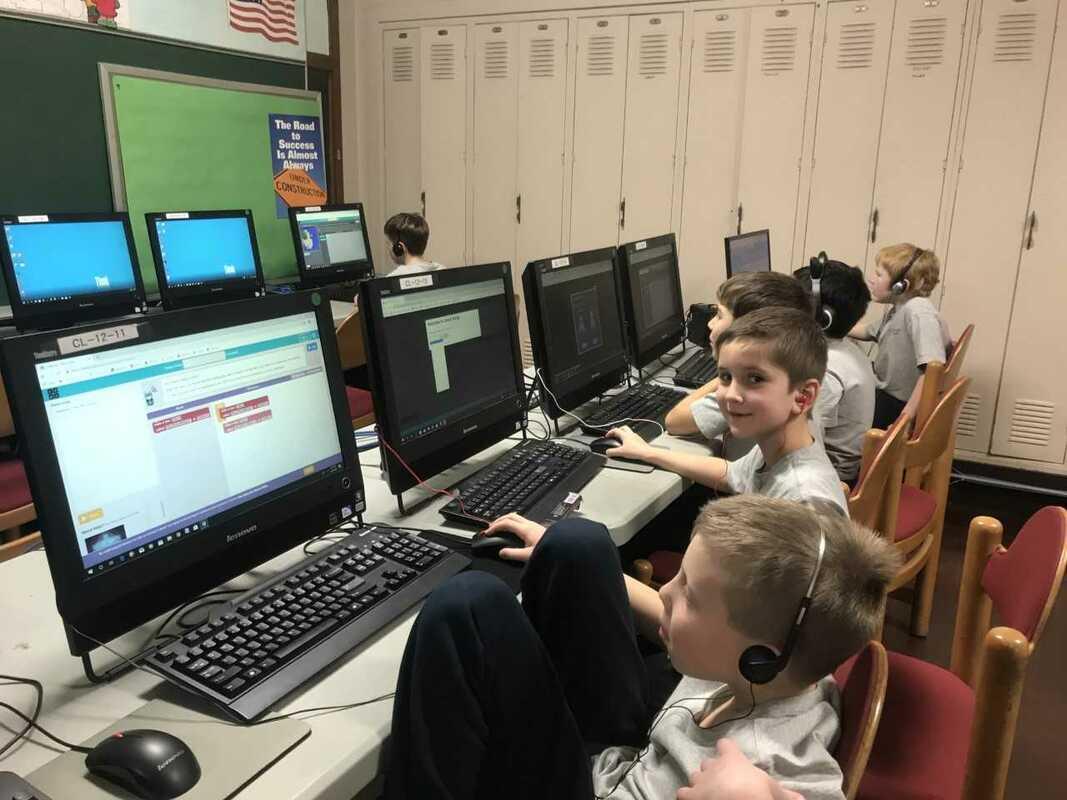 TECHNOLOGY - ST  EDWARD SCHOOL CHICAGO